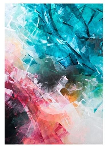 MarkaEv Canvas Renkli Boya Tablo 0184 Renkli